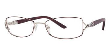Bordeaux/Gold Avalon 5020 Eyeglasses