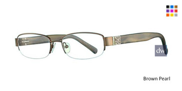 Brown Pearl Avalon 5021 Eyeglasses