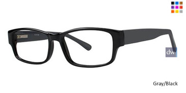 Grey/Black Parade Q Series 1728 Eyeglasses