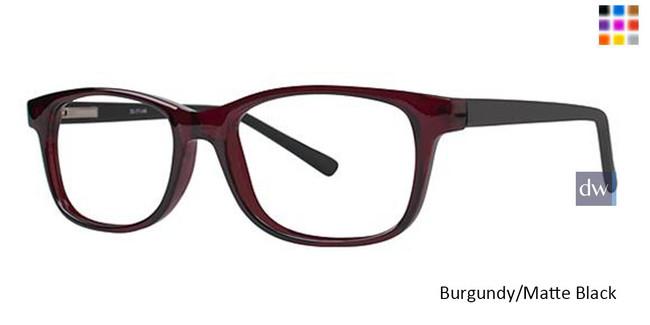 Burgundy/Matte Black Parade Q Series 1730 Eyeglasses