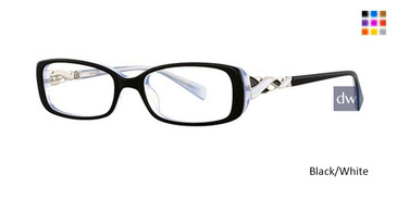 Black/White Avalon 5028  Eyeglasses