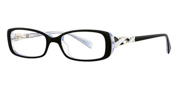 Black/White Avalon 5028 Eyeglasses