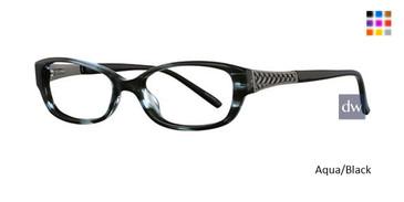 Aqua/Black Avalon 5030  Eyeglasses