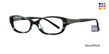 Aqua/Black Avalon 5030 Eyeglasses