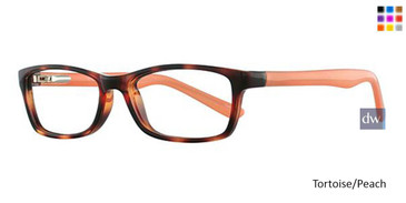 Tortoise/Peach Parade Q Series 1741 Eyeglasses