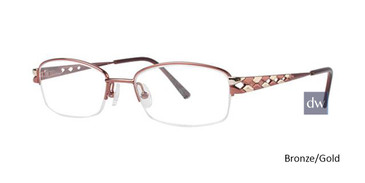 Bronze/Gold Avalon 5033 Eyeglasses - Teenager
