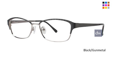 Black/Gunmetal Avalon 5034 Eyeglasses