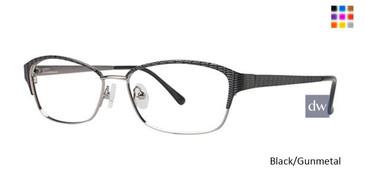 Black/Gunmetal Avalon 5034 Eyeglasses