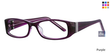 Purple Parade Plus 2104 Eyeglasses - Teenager
