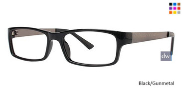 Black/Gunmetal Parade Plus 2111 Eyeglasses