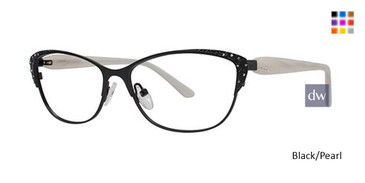Black/Pearl Avalon 5042 Eyeglasses