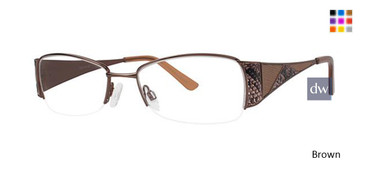 Brown Avalon 5043 Eyeglasses