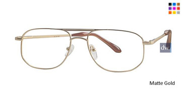 Matte Gold Parade 1535 Eyeglasses