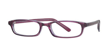 Blue/Grape Crystal Parade 1541 Eyeglasses - Teenager.