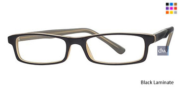 Black Laminate Parade 1545 Eyeglasses