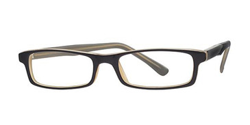 Black Laminate Parade 1545 Eyeglasses.