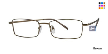 Brown Parade 1553 Eyeglasses