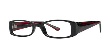 Black/Wine Parade 1701 Eyeglasses - Teenager.