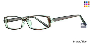 Brown/Blue Parade 1704 Eyeglasses