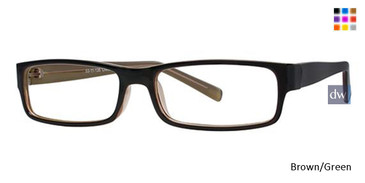 Brown/Green Parade 1706 Eyeglasses
