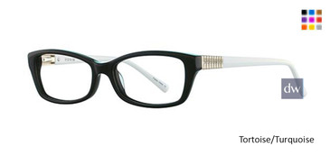 Black/White Avalon 5047 Eyeglasses