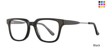Black Romeo Gigli RG77007 Eyeglasses.