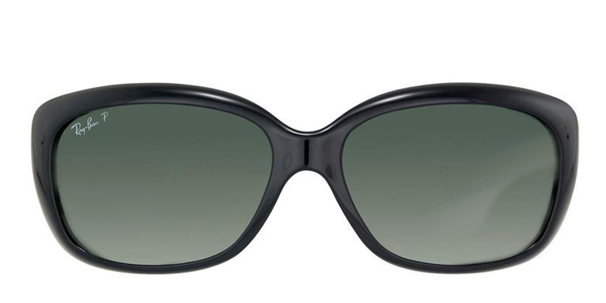 Black 601/T3 RayBan RB4101 Polarized Jackie Ohh Sunglasses