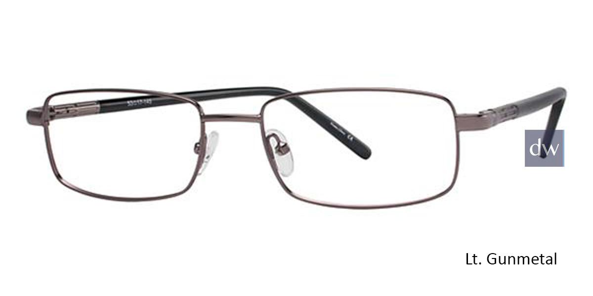 Lt. Gunmetal Avalon 5103   Eyeglasses.