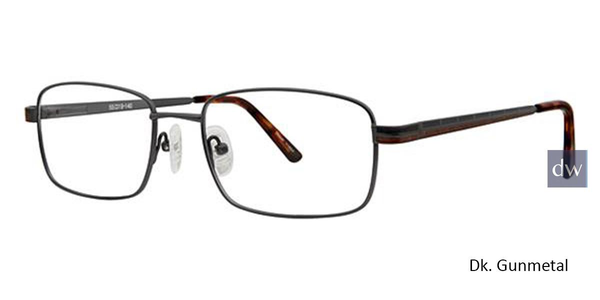 DK. Gunmetal Avalon 5107 Eyeglasses.