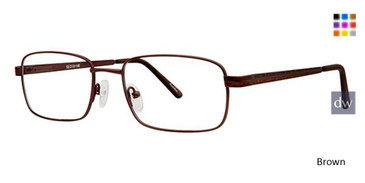 Brown Avalon 5107 Eyeglasses.