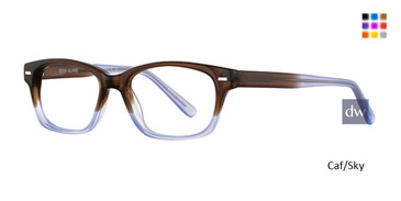 Caf/Sky Deja Vu 9005 Eyeglasses - Teenager