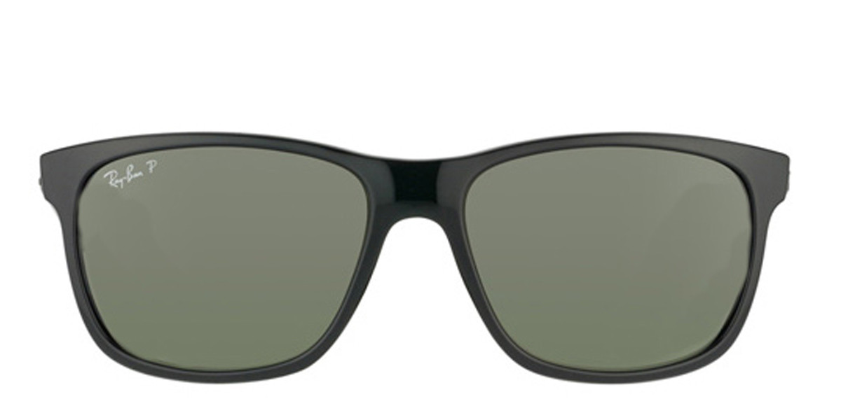 Black Black 601/9A RayBan RB4181 Polarized Sunglasses