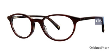Oxblood/Horn Deja Vu DV007 Eyeglasses - Teenager