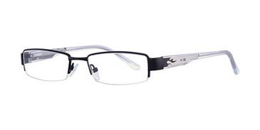 Black/Lt. Gunmetal K12 4041 Eyeglasses - Teenager
