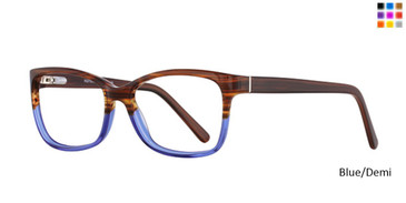 Blue/Demi Romeo Gigli RG77017 Eyeglasses.