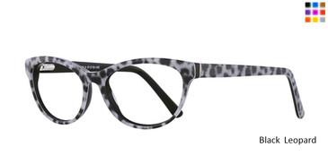 Black Leopard  Romeo Gigli 77018 Eyeglasses