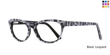 Black Leopard Romeo Gigli RG77018 Eyeglasses.
