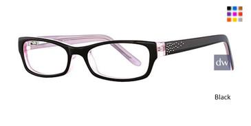 Blac kK12 4049 Eyeglasses