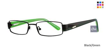 Black/Green K12 4053 Eyeglasses
