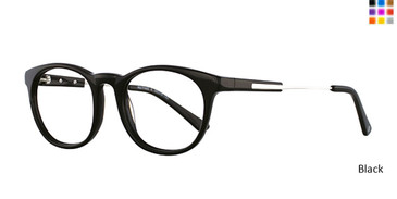 Black Romeo Gigli 77402 Eyeglasses - Teenager