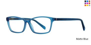 Matte Blue Romeo Gigli 79036 Eyeglasses