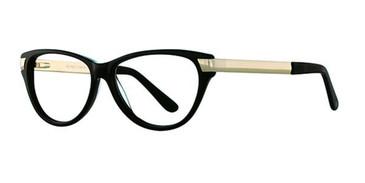 Black/Nero Romeo Gigli 79037 Eyeglasses