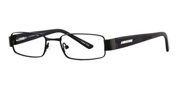 Black/Dark Blue K12 4054 Eyeglasses - Teenager