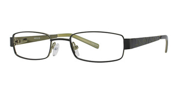 Black/Green K12 4057 Eyeglasses