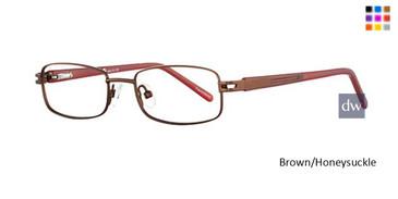 Brown/Honeysuckle K12 4059 Eyeglasses