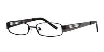 Black/Gun K12 4065 Eyeglasses - Teenager