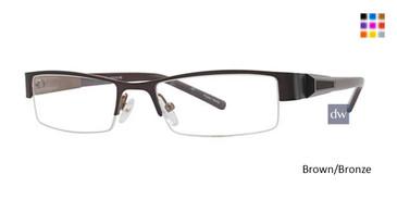 Brown/Bronze K12 4066 Eyeglasses - Teenager