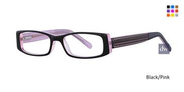 Black/Pink K12 4069 Eyeglasses