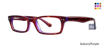 Auburn/PurpleTortoise/GreenEyeglasses
