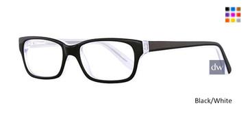 Black/White K12 4085 Eyeglasses